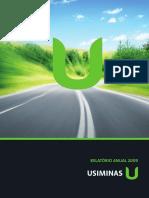 UsiminasAnual2009.pdf