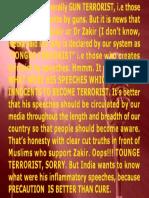Zakir is Tongue Terrorist