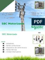 Seccionador Schneider Electric SBC MOTORIZADO
