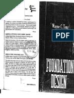 WAYNE C. TENG Foundation Design