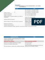 Fechas y Tarifas Saber Pro Universitarios 2 2016