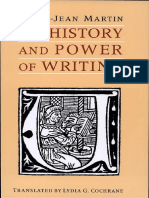 Martin_The History and Power of Writing