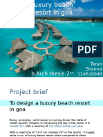 Luxury Beach Resort in Goa