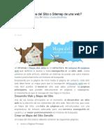 Qué Es Un Mapa Del Sitio o Sitemap de Una
