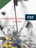 Clasificacion Instrumentos Industriales