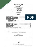 Partituras - Tienen que saber - steve g.pdf