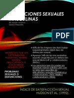 Disfunciones Sexuales Masculinas Dr.manuel Valencia