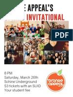 Oa Spring Invitational