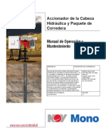 Hydraulic Wellhead Drive Manual Spanish