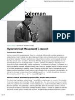 Symmetrical Movement Concept | Steve Coleman