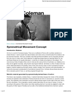 Symmetrical Movement Concept | Steve Coleman