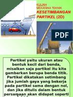 Kuliah Kesetimbangan Partikel