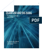 Quantum and Big Bang