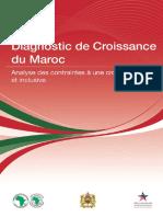 Diagnostic de Croissance Du Maroc Analyse Des Contraintes à Une Croissance Large Et Inclusive - Version FR