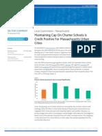 Maintaining Charter School Cap is Credit Positive for Massachusetts Cities