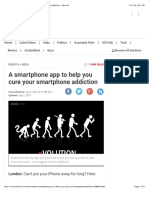 A Smartphone App to Help You Cure Your Smartphone Addiction - News18