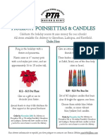 holiday gift fundraiser flyer