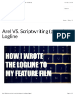 Arel vs. Scriptwriting (Part 1)