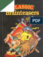 Classic Brainteasers - Martin Gardener
