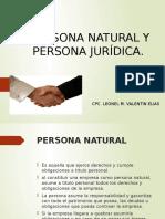 PERSONA NATURAL PERSONA JURIDICA