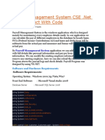 Payroll Management System CSE