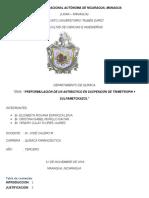 preformulacion de la suspension de trimetropin sulfametoxazol- tecnología famrceutica