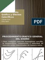 10.3 Procedimiento Grafico 10.4 Efectos Calorificos