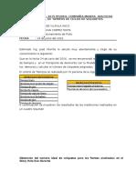 Informe de Demoras