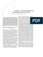 Deteccion de Fallas en Sistemas Flexibles