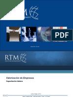 Capacitación Valorización de Empresas May 2012 rev1