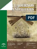 Cuadernos Andaluces 3 Dic.2011