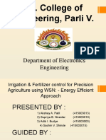 Akshay_ Irrigation & Fertilizer control for precision Agriculture using WSN- Energy Efficient Approach PPT.pptx