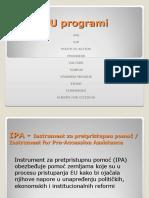 EU Programi Prezentacija