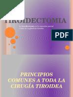 11.- TIROIDECTOMÍA