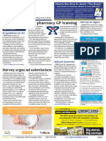 Pharmacy Daily for Wed 16 Nov 2016 - PSA pharmacy GP training, Harvey urges ad submissions, Medicines Management 2016 tomorrow, Health and Beauty and much more