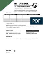 259118138 Calibracion de Valvulas e Inyectores de Motor Ddec v PDF