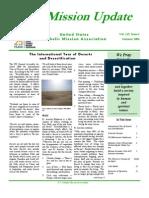 Summer 2006 Mission Update Newsletter - Catholic Mission Association