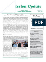 Spring 2006 Mission Update Newsletter - Catholic Mission Association