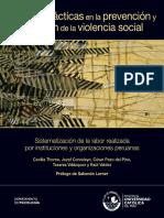 Buenas Practicas de Prevencion y Atencion de Violencia Social