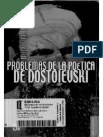 215392463 Problemas de La Poetica de Dostoievski MijailM Bajtin Opt