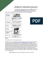Reservoir Modeling for Simulation Purposes