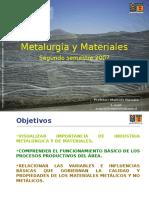Mineria y Metalurgia