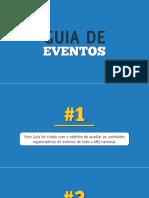[Brasil Júnior] Guia de Eventos