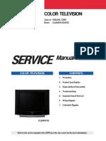 Tv Samsung CL29A551GQ9XZD Chassis KSDA-N-CB5G Manual de Servicio