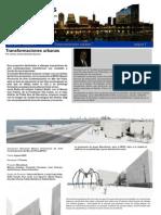 Transformaciones urbanas por el Arq. Carlos Sánchez Saravia