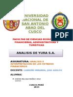 ANALISIS DE LA EMPRESA YURA S.docx