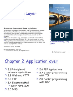 Chapter2 Application Layer