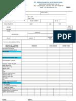 Cv Deck Form