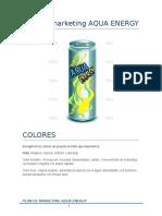 Plan de Marketing Aqua Energy Perfecto