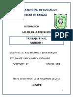 Escuela Normal de Educacion Preescolar de Oaxaca